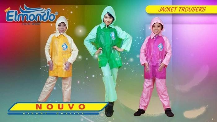 Stelan jas hujan anak remaja / jas hujan anak sekolah / jas hujan anak