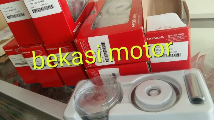 harga Piston kit ring seher 1set honda cs1 sonic 125 original os 0.75 Tokopedia.com