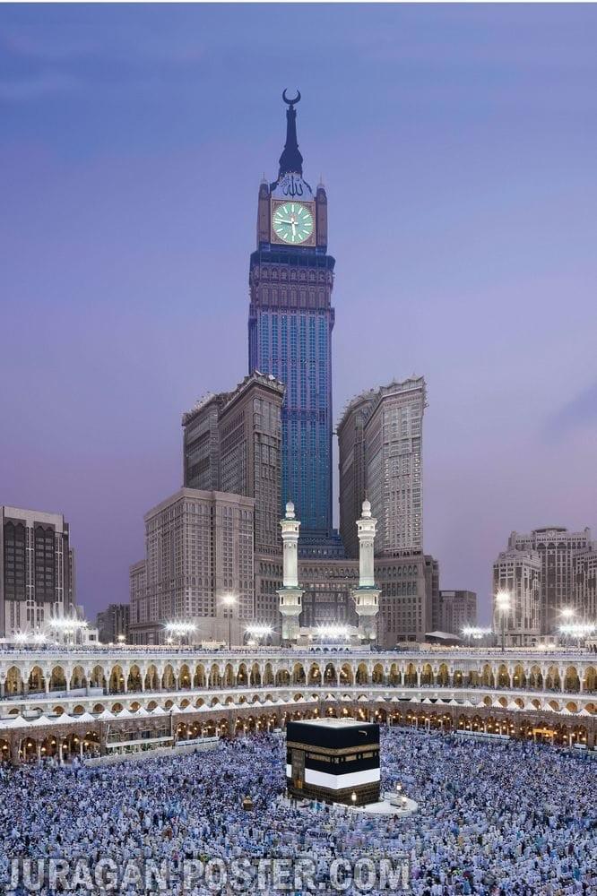 Jual Poster Islami Kaaba Kabah Masjidil Haram Mekah Arab 07 Ukuran 60x90cm Kab Majalengka Juragan Poster Murah Tokopedia