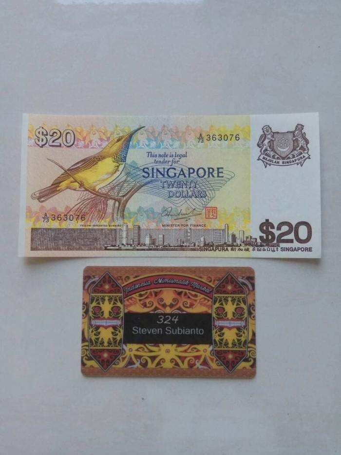 harga Uang kuno singapore 20 dollar bird series th 1979 Tokopedia.com