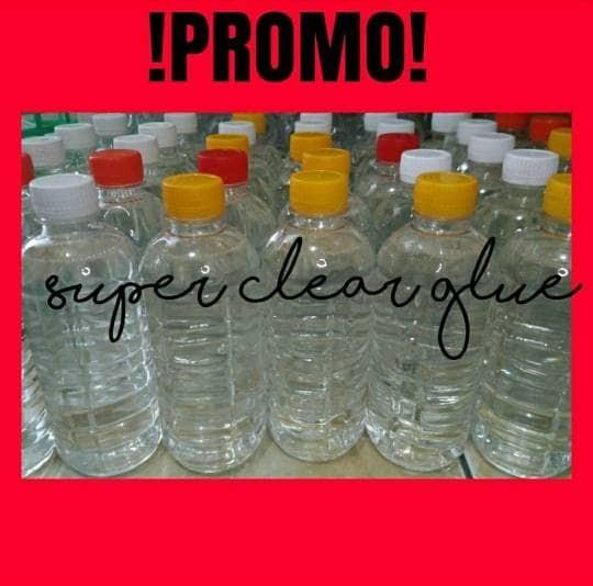 harga Super clear glue 500ml (bahan slime) Tokopedia.com