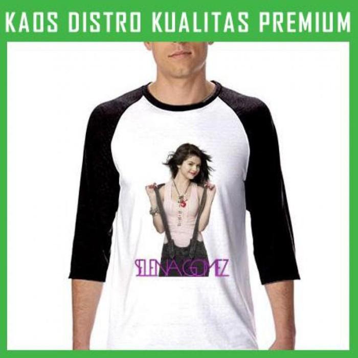 Kaos Raglan Selena Gomez 2 RGL-AFI05