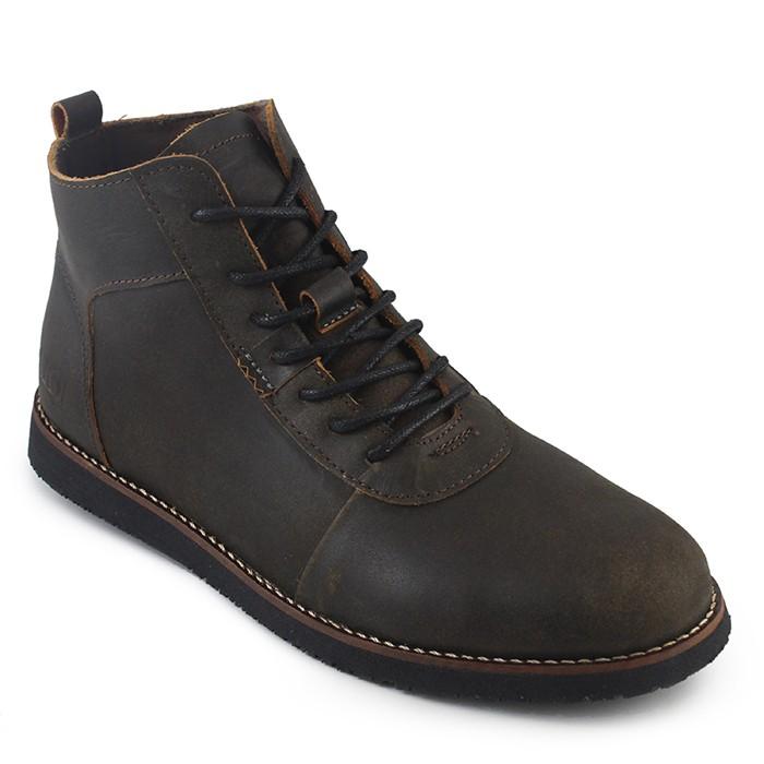 Jual Sauqi Brodo Sepatu Pria Sepatu Boots Kulit Asli Murah Keren ... f17357e553