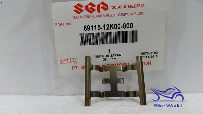 harga Plat tahanan kaliper belakang satria fu fi 69115-12k00-000 suzuki genu Tokopedia.com