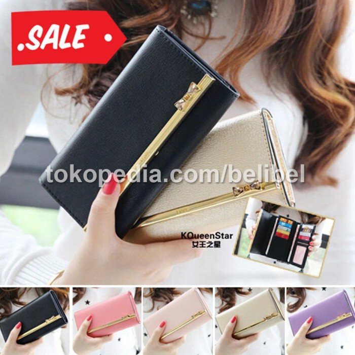Dompet Wanita KQueen Star Import Korea / Jims Honey KQueenstar Wallet