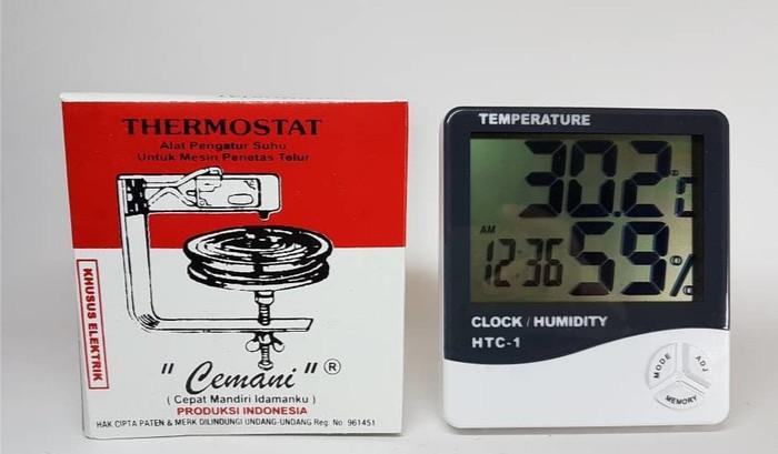 harga Alat komponen mesin tetas cemani dan termometer htc1 / penetas telur Tokopedia.com