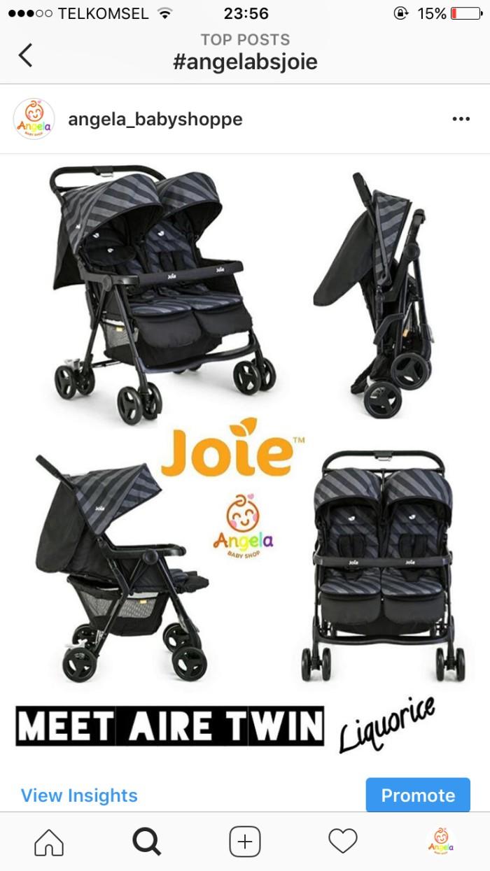 harga Stroller kembar joie aire twins Tokopedia.com