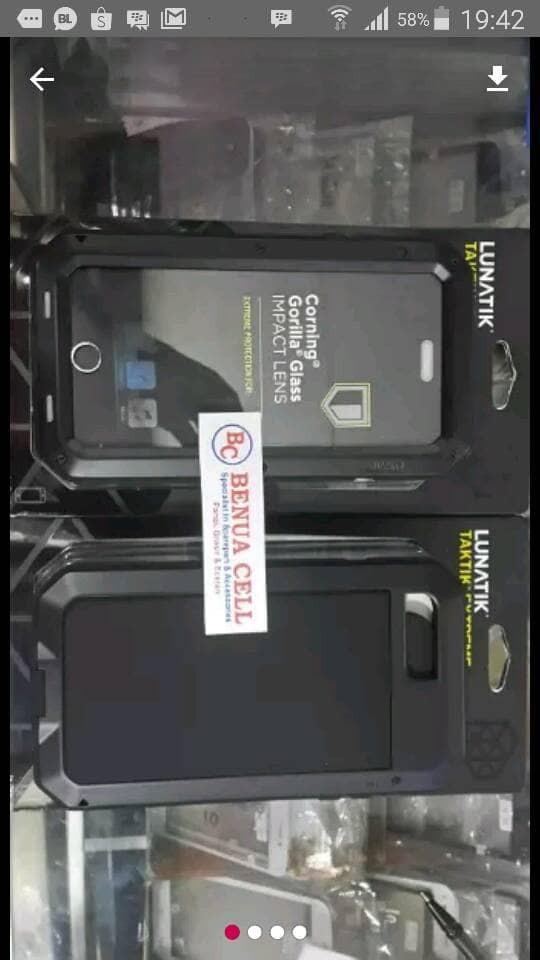 harga Lunatik extreme full black for iphone 7plus iphone 8 plus Tokopedia.com