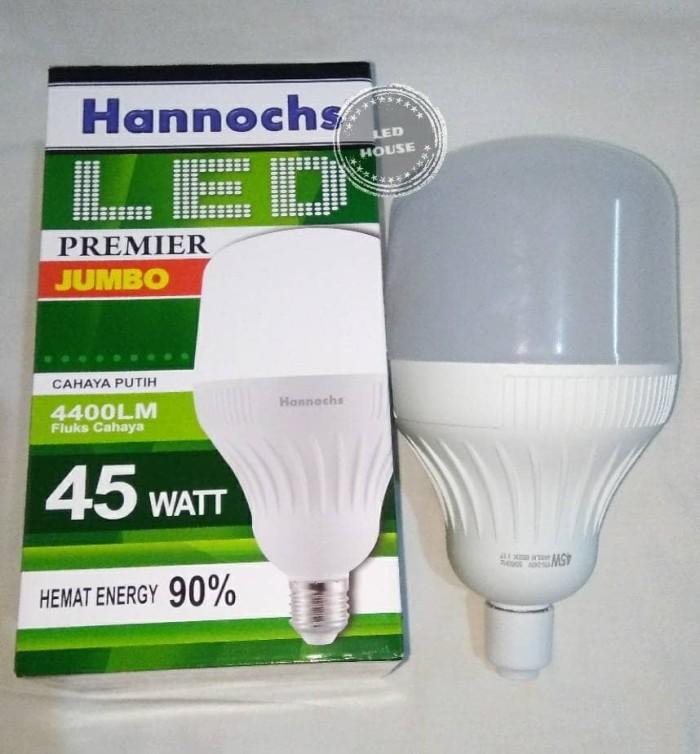 LAMPU LED HANNOCHS PREMIER JUMBO 45W / WATT LEDBLUB TERANG BERGARANSI