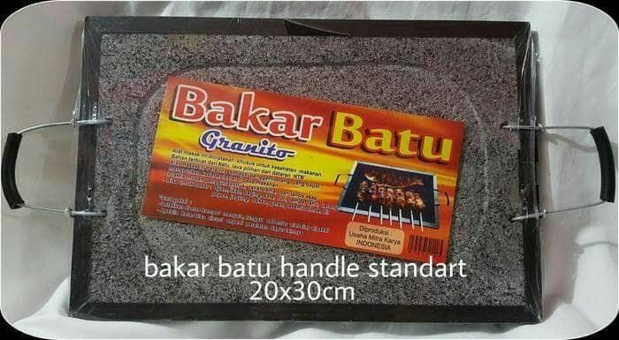 "Alat Panggang / BAKAR BATU GRANITO SUPER QUALITY"""