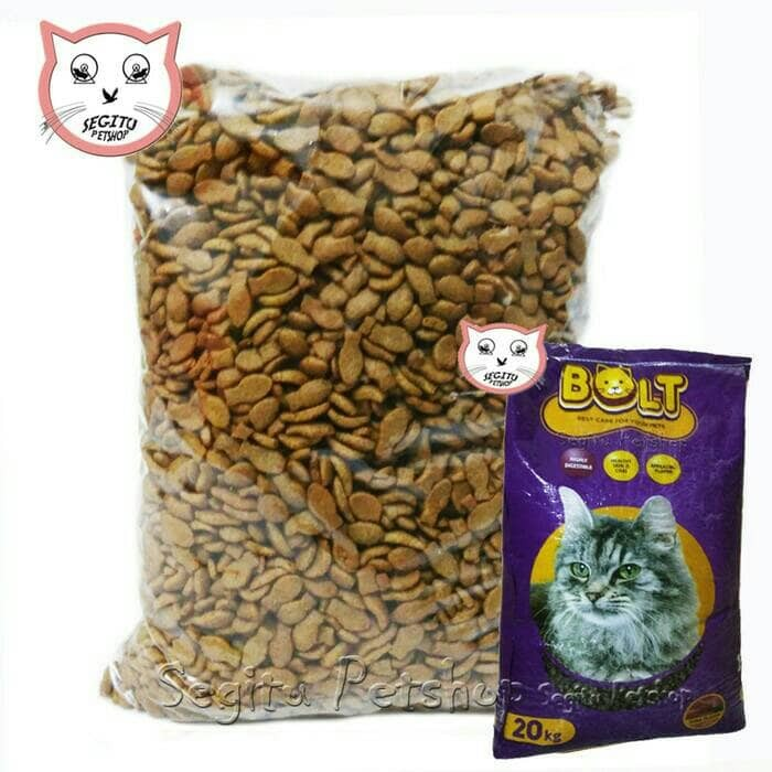 Jual Makanan Kucing Bolt Cat Food 900 Gram Jakarta Timur