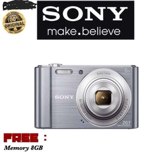 harga Kamera sony cybershot w810 free memory 8gb (resmi sony) Tokopedia.com