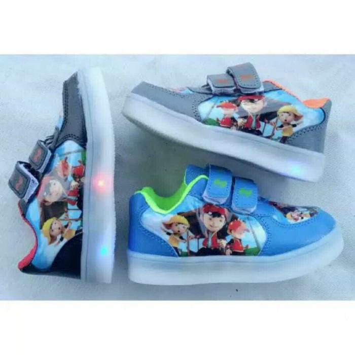 harga Sepatu anak led boboi boy import /sepatu led boboiboy import Tokopedia.com