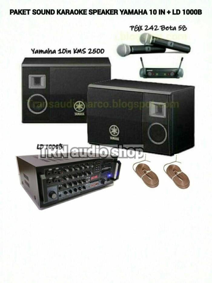 harga Paket sound karaoke speaker yamaha 10in dan ld speaker Tokopedia.com