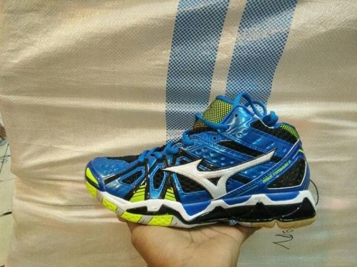Sepatu Sport Volley Voli Mizuno Wave Tornado 9 Tinggi(MID) Premium H 9d064397c7