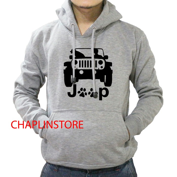 Jual Jaket Sweater Hoodie Pria Wanita Mobil Jeep - CHAPLINSTORE ... bfa3f1bfea