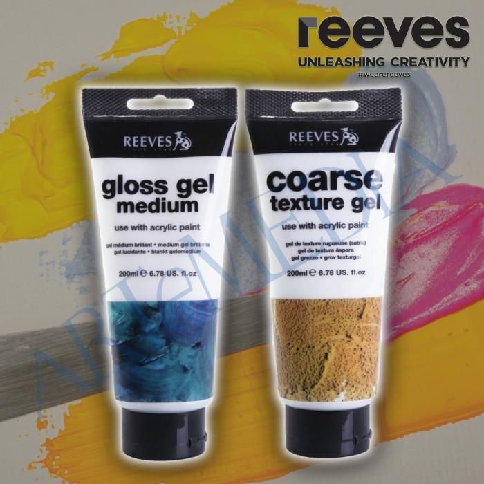 Reeves 200ml Acrylic Gloss/Texture Gell - medium tekstur acrylic