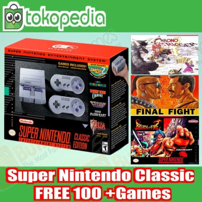 harga Snes Classic Super Nes Classic Edition Bonus 100 Game Tokopedia.com