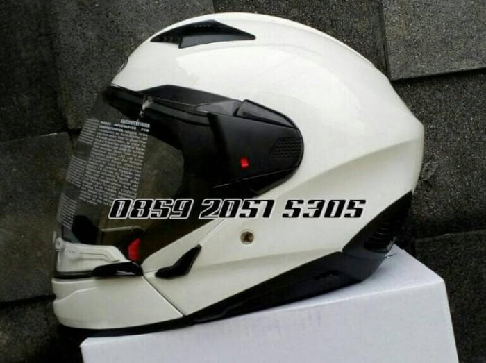harga Zeus helmet z611c. white / helm zeus Tokopedia.com