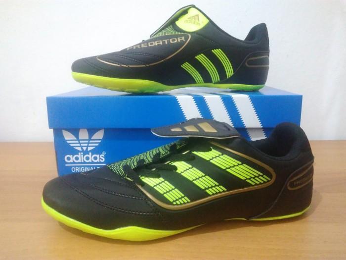 ... germany sepatu futsal pria adidas predator black green terbaru real  pict b0719 9638f fe76e80904