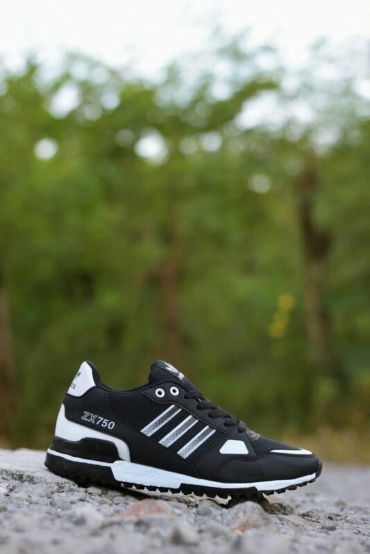 Jual Sepatu Sport Ori   Sepatu Adidas Terbaru Original ZX 750 Hitam ... f534f08d8b