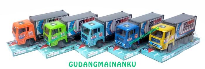 Mainan Mobil Truk Box Friction Mika