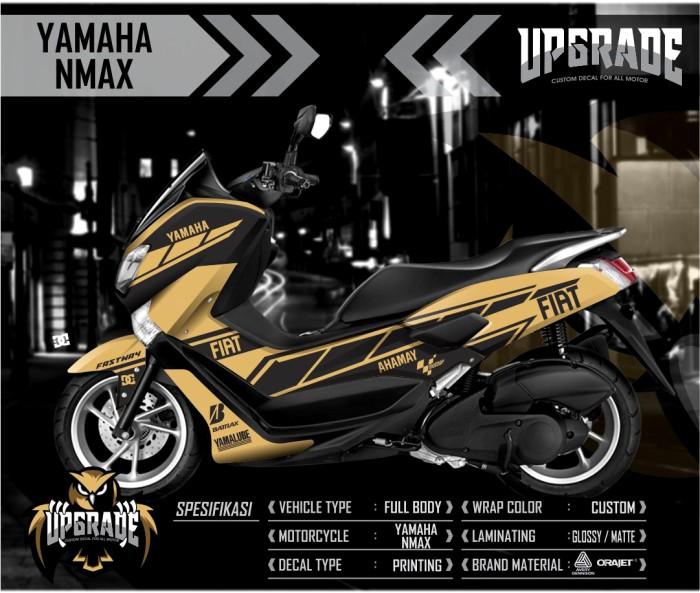 Decal sticker striping yamaha nmax racing