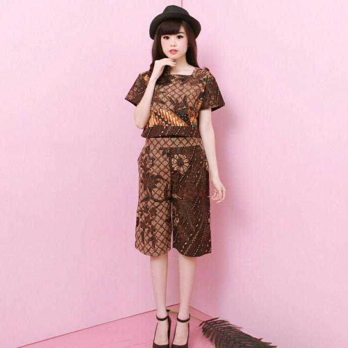 harga Insta cullote - bawahan batik kulot batik modern rok batik celana bati Tokopedia.com