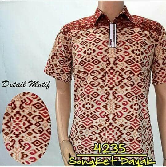 Jual batik pria dayak cek harga di PriceArea.com e126586fe4