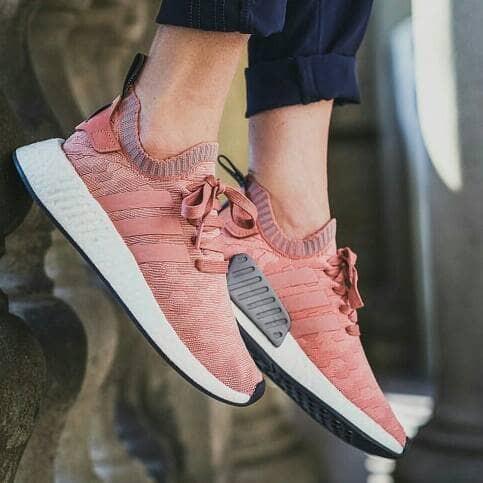 591cb2612 Jual Adidas NMD R2 Primeknit Raw Pink - DKI Jakarta - Marqces ...
