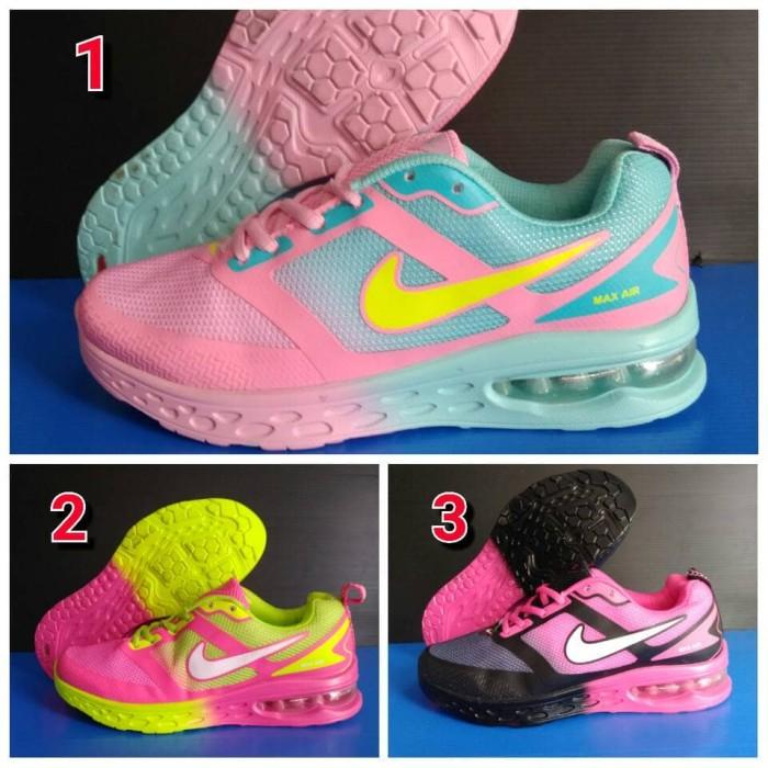 harga Sepatu sport nike airmax tabung wanita murah volly tenis lari reebok Tokopedia.com