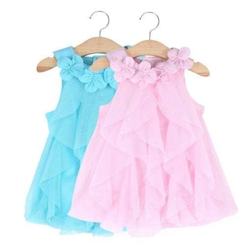 Jual Gaun Bayi Kerah Motif Bunga Gaun Anak Gaun Pesta Anak Gaun