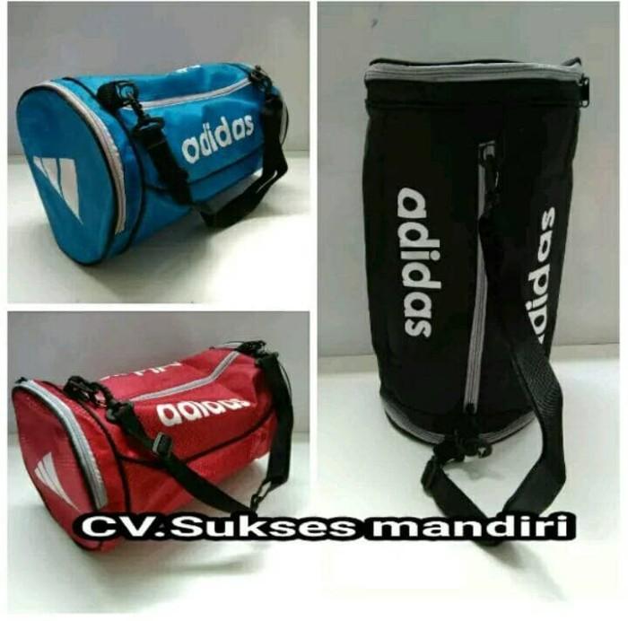 harga Travel bag tas tabung gym futsal fitness basket adidas sport Tokopedia .com 5166ca11ad