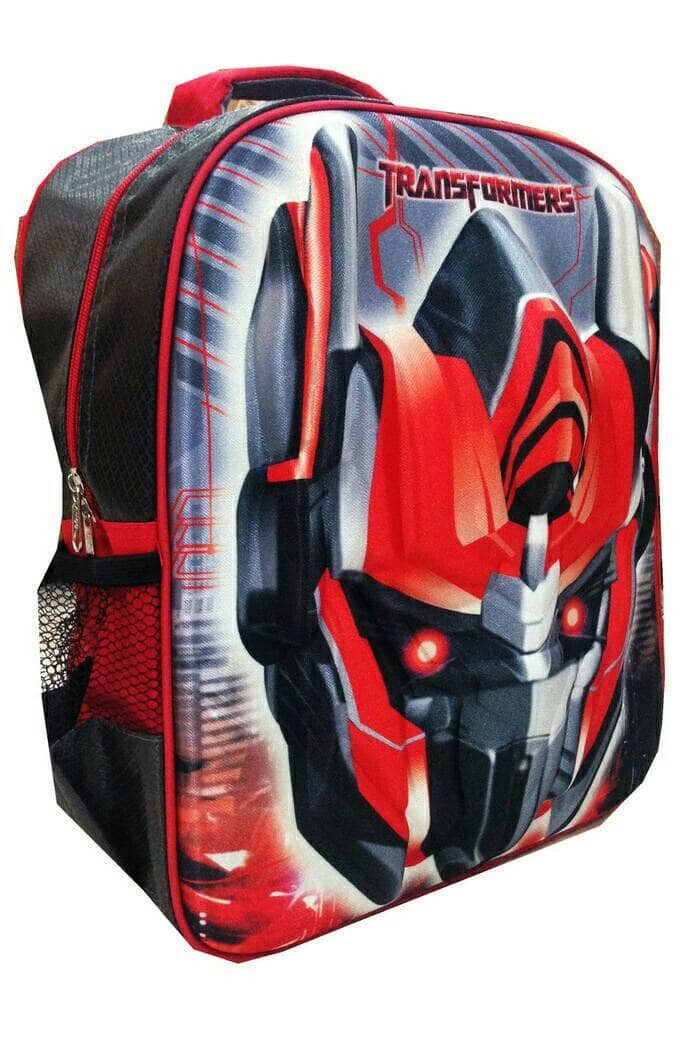 Anime 3D Print Transformers Optimus Prime Boys//Girls Backpack School Bag Kid Bag