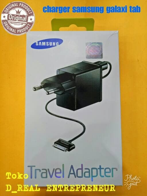 harga Charger/traver charger samsung galaxi tab/tab 2 original Tokopedia.com
