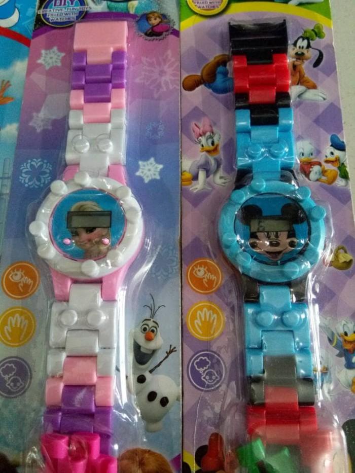 harga Jam tangan anak karakter disney lego hk mickey doraemon frozen Tokopedia.com