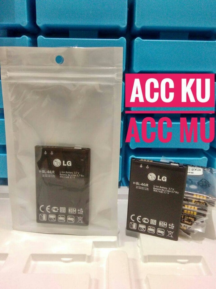 harga Baterai battery lg bl-44jr /lg l40 / p940 ori 100% Tokopedia.com