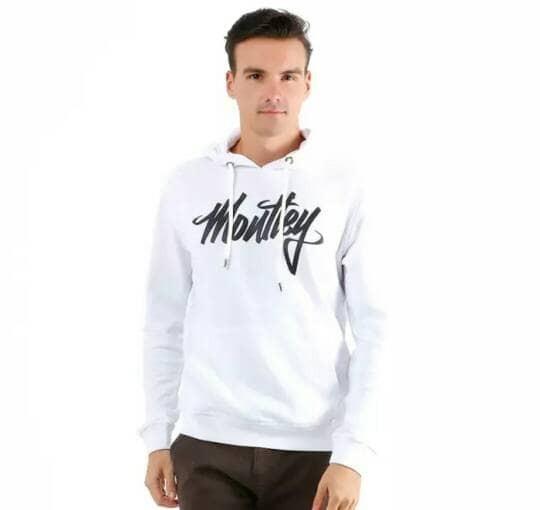 harga Hoodie zipper jumper moutley white colour Tokopedia.com