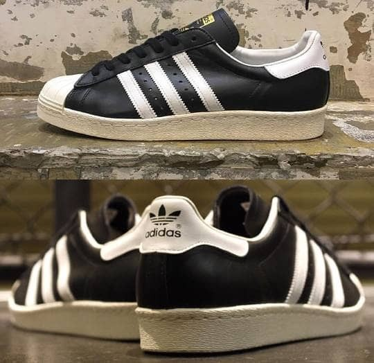 Jual adidas superstar 80s black white - indokicks jakarta  a620a8d981