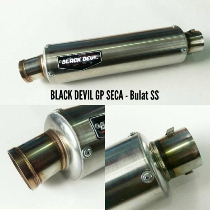 harga Knalpot black devil gp seca - ss original (silencer) Tokopedia.com