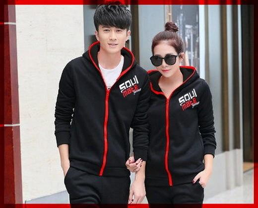 harga [cp jkt soulmate cl] jaket couple babyterry hitam Tokopedia.com
