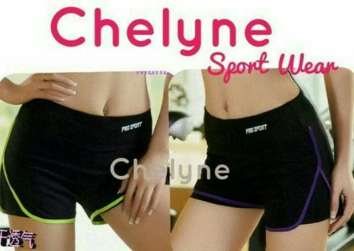 harga Celana sport pants pendek 2 lapis /celana senam / fitness / gym Tokopedia.com