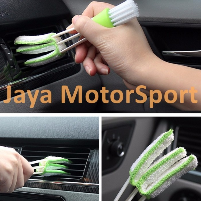 harga Car cleaning / care tools brush for air conditioning - microfiber wash Tokopedia.com