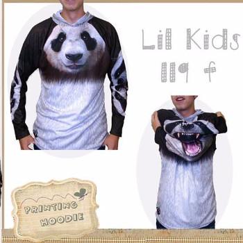 Jual Jaket Hoodie Sweater Anak Cowok Laki Laki Lk119 F Usia 1 5th Panda Harga Rp