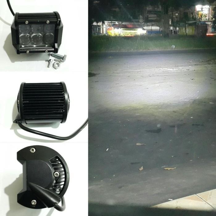 harga lampu tembak sorot led cwl 6 lensa cembung waterproof sinar putih Tokopedia.com