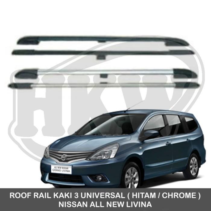 harga Roof rail kaki 3 universal nissan all new livina Tokopedia.com