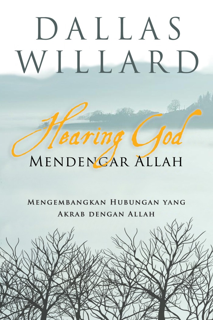 Foto Produk buku Hearing God Dallas Willard dari Penerbit Gloria JKT
