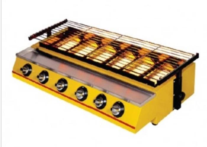 harga 6 burner gas bbq getra et-k233 | alat pemanggang panggang etk233 etk Tokopedia.com