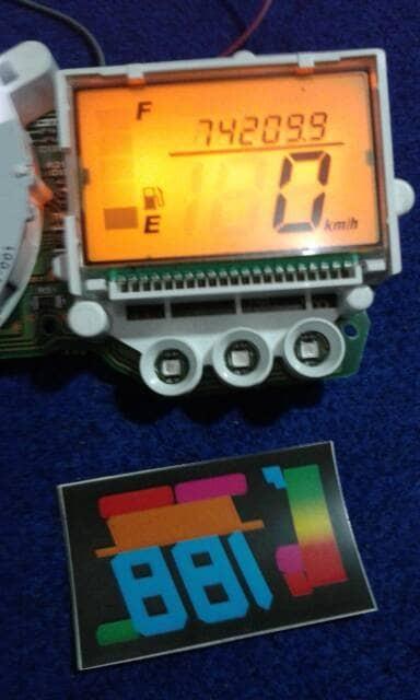 Info Speedometer Satria Fu Hargano.com
