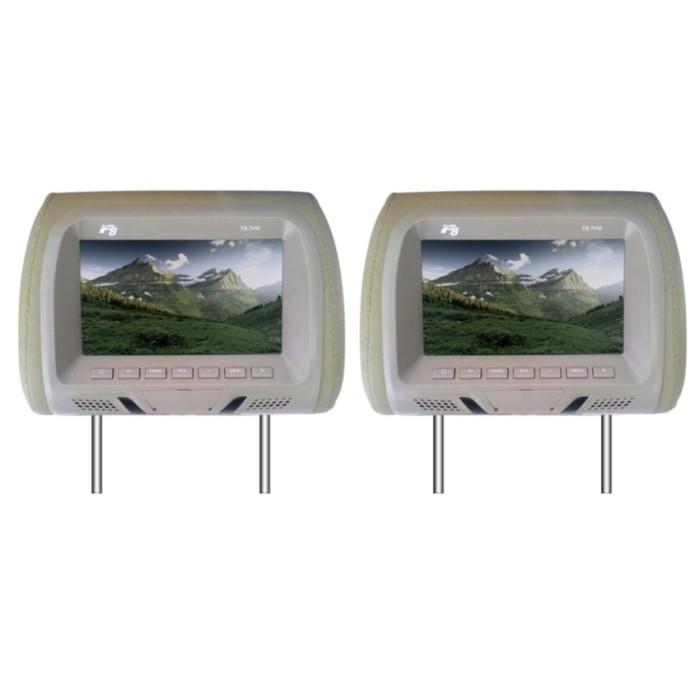harga F8 f8-7hm 7  headrest monitor - mocca Tokopedia.com